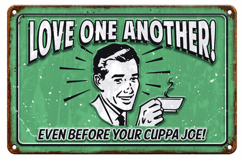 Cuppa Joe - Christian Tin Signs