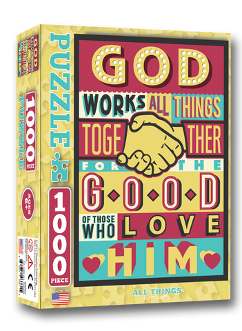 All Things - Christian Puzzles (1,000 Pieces)
