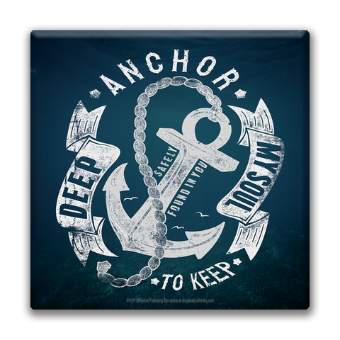 Anchored - Christian Canvas