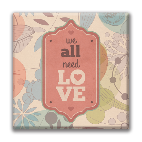 All Need Love - Christian Canvas