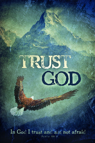 Trust God - Christian Posters