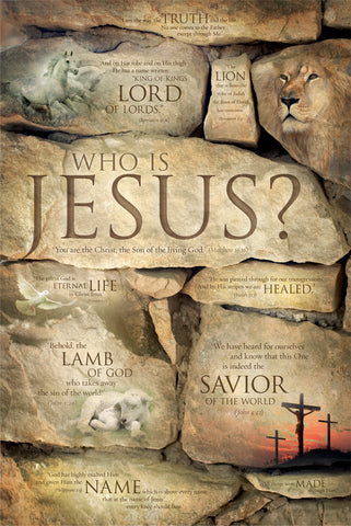 Who is Jesus - Christian Posters