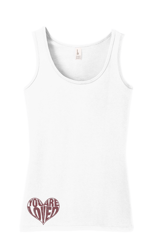 Loved - Christian Fitted Tank Top