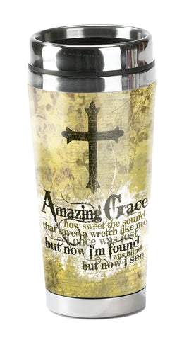 Amazing Grace - Christian Tumbler