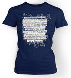 I am a Daughter - Ladies Cut Christian TShirt