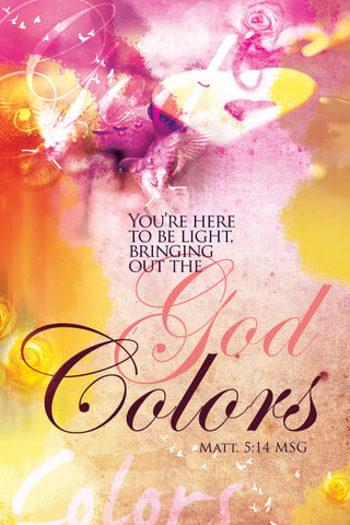 God Colors - Christian Posters