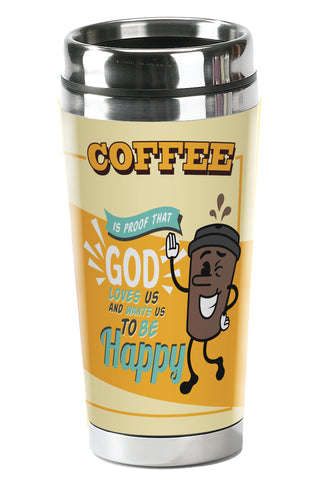 Happy Coffee - Christian Tumbler