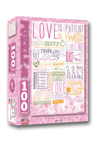 Love is Patient - Christian Puzzles (100 Pieces)