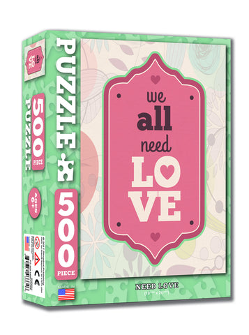 All Need Love - Christian Puzzles (500 Pieces)