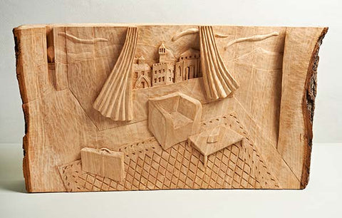 Cameron Scott: Surreal Relief Carving