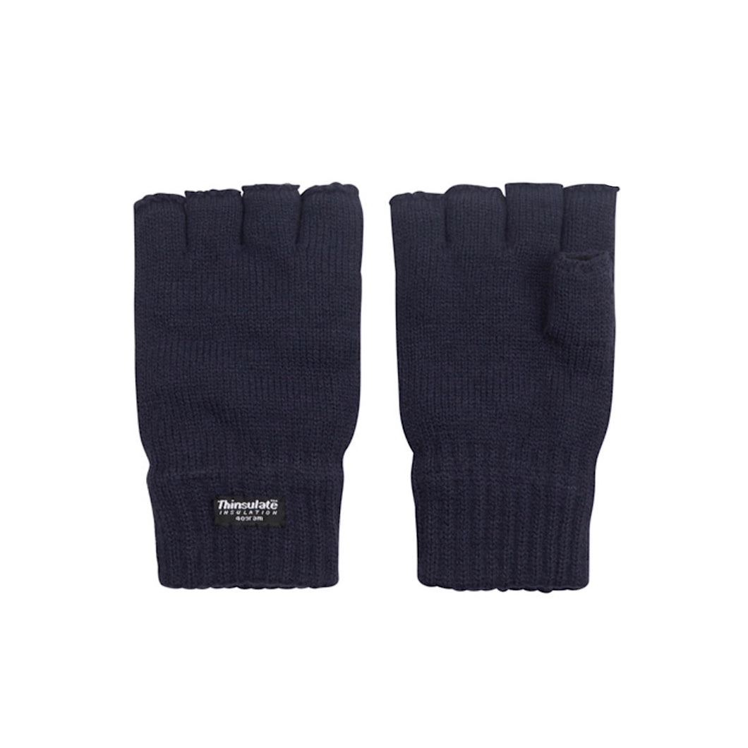 Men's Thinsulate Fingerless Gloves