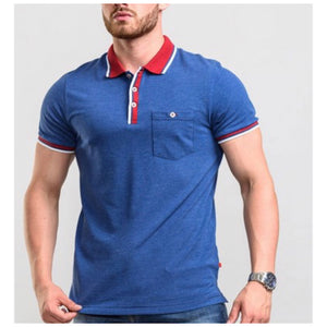 Pique Polo With Contrast Collar