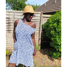 Load image into Gallery viewer, Striped Linen Shift Dress | £20