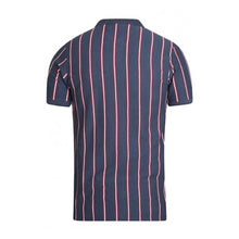 Load image into Gallery viewer, Couture Stripe Textured Polo