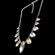 Load image into Gallery viewer, Elizabeth Silver & Crystal Short Necklace