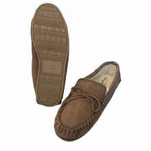 Load image into Gallery viewer, Gents Suede Lambswool Moccasins