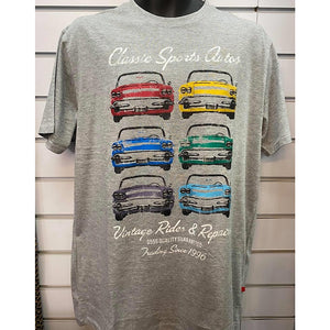 Classic Sport Auto Printed T-Shirts