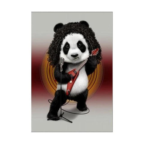 Tableau Affiche Pop Art Panda