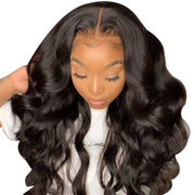 body wave remy hair lace front wig