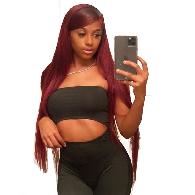 99J lace front wig