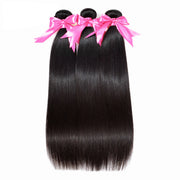 black real hair extensions
