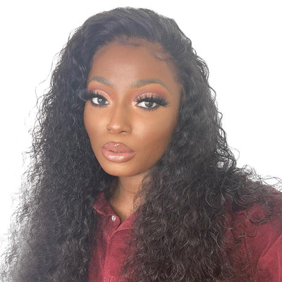 brazilian curly virgin human hair wig