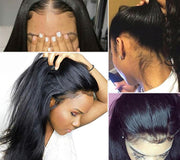 lace front wig with baby hair