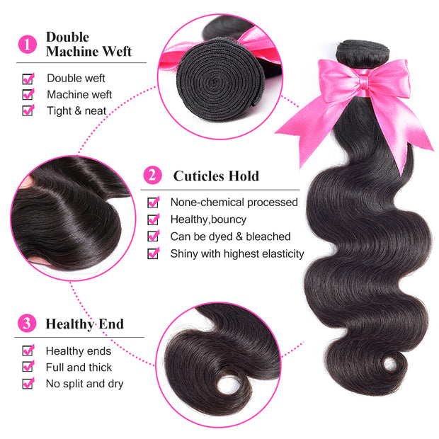 10 12 14 16 18 20 22 24 26 Inch Body Wave Remy Hair