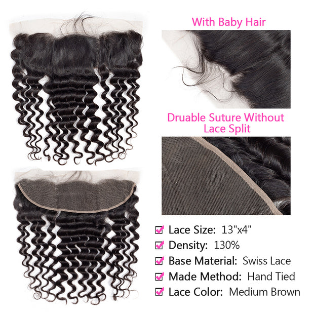 loose deep wave bundles with frontal