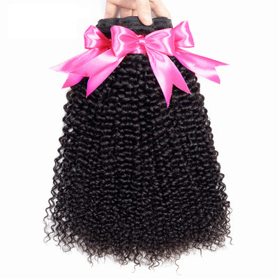 mongolian curly hair bundles