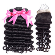 3 bundles with closure deep wave