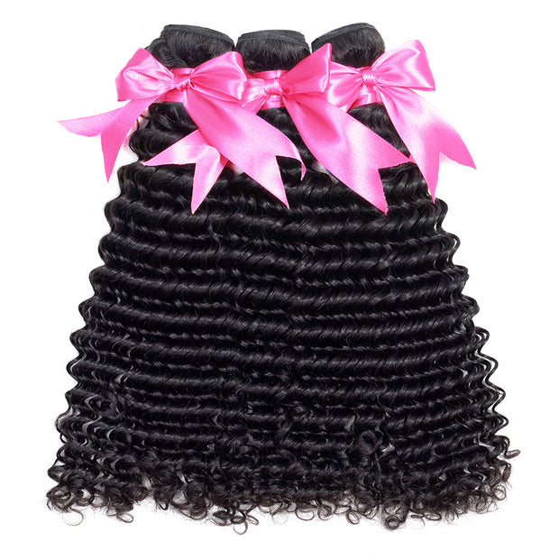 deep curly hair bundles