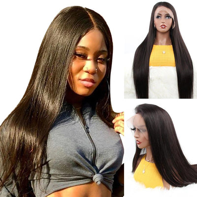 cheap 360 lace front wigs human hair