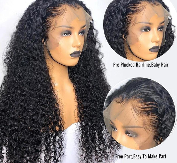 hd transparent lace wigs