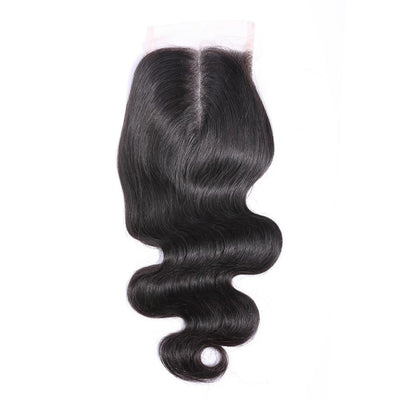 brazilian body wave middle part closure