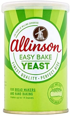 Allinson Easy Bake Yeast Tin 100g