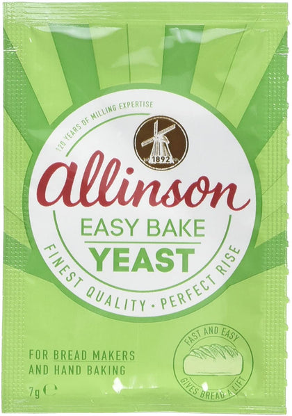 Allinson Yeast Easy Bake Sachets 48x7g