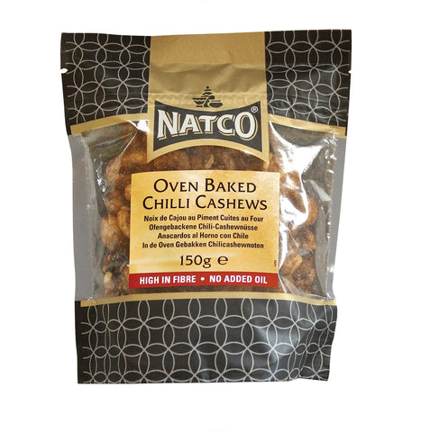 Baked Chilli Flavoured Cashews 150g