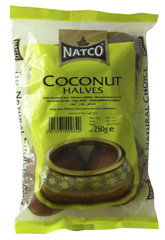 Coconut Halves 250g