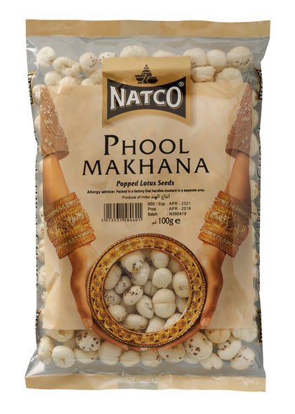 Phool Makhana (Popped Lotus Seeds) 100g