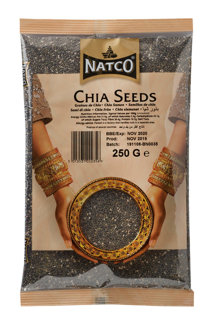 Black Chia Seeds 250g