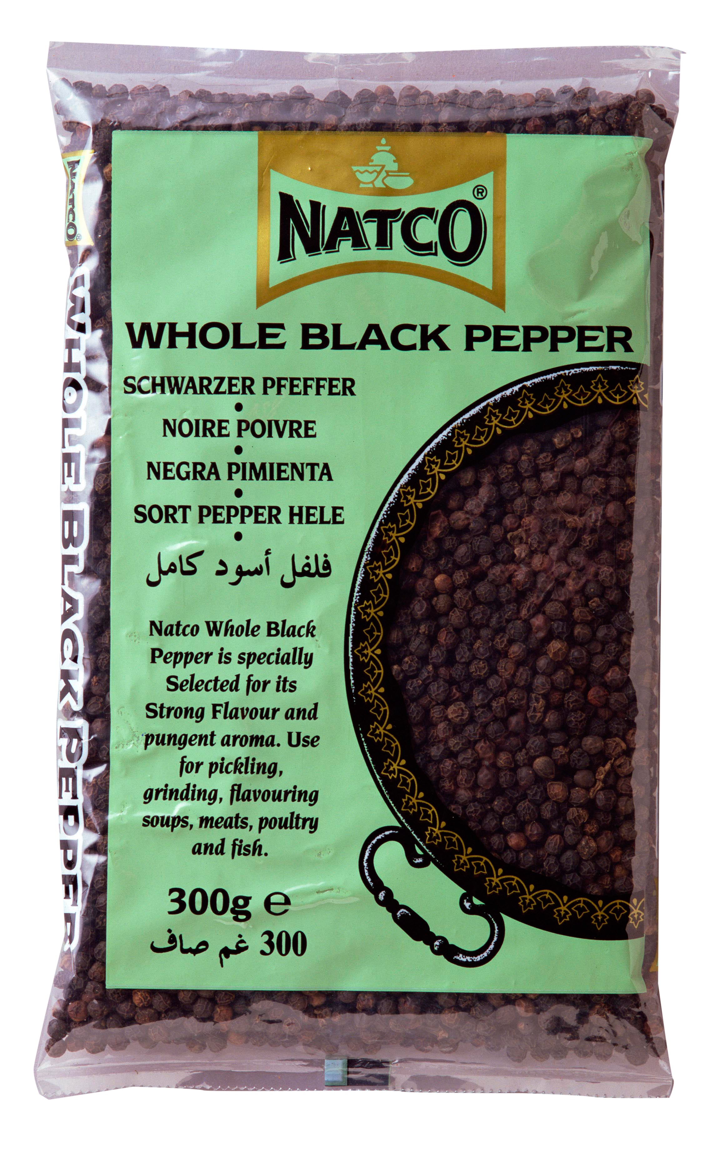 Black Pepper Whole 300g