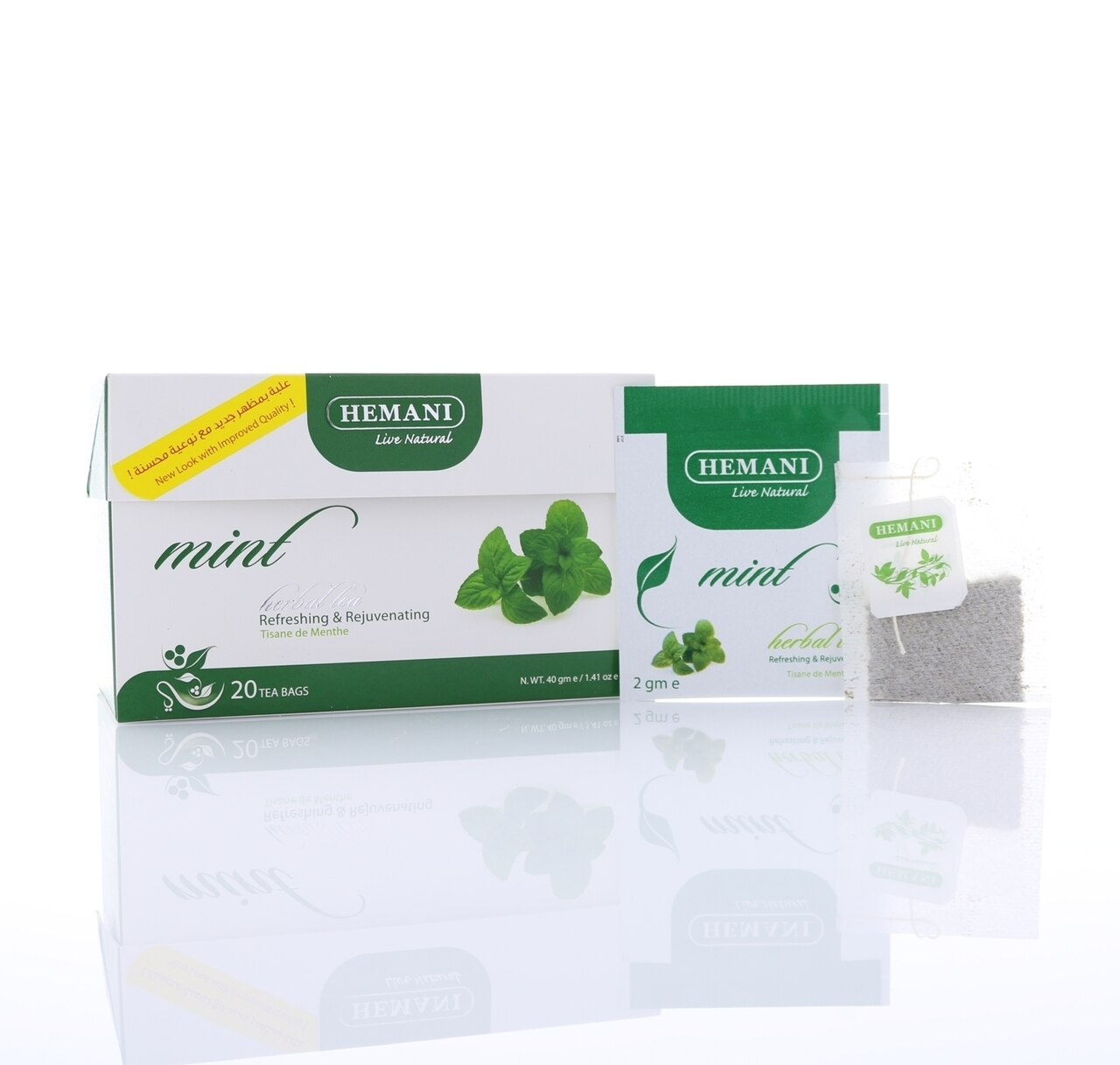 Hemani Mint Herbal Tea 40g