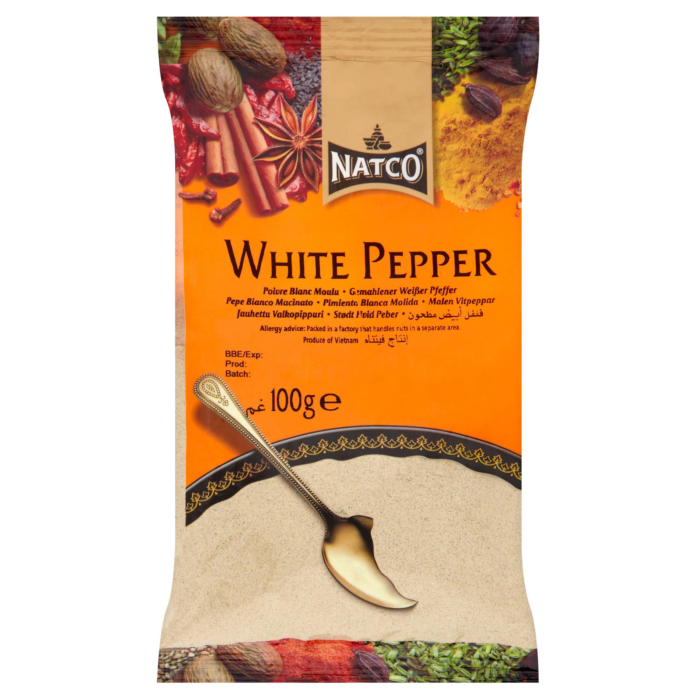 White Pepper Ground 100g