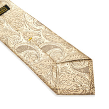 Load image into Gallery viewer, Genoa Paisley Woven Silk Tie