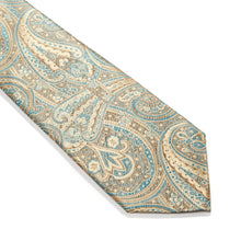 Load image into Gallery viewer, Trieste Paisley Woven Silk Tie
