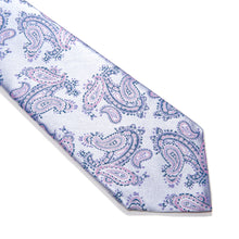Load image into Gallery viewer, Ferrara Paisley Woven Silk Tie