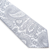 Load image into Gallery viewer, Salerno Paisley Woven Silk Tie
