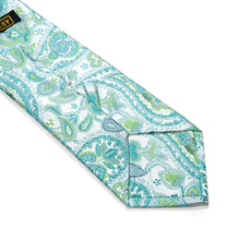 Load image into Gallery viewer, Enna Paisley Woven Silk Tie