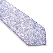 Load image into Gallery viewer, Caseta Paisley Woven Silk Tie